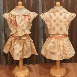 LITTLE FAIRY KIDS DRESS - HOLLY LIGHT CREAM