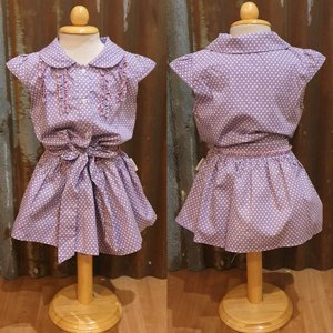 LITTLE FAIRY KIDS DRESS - HOLLY PURPEL