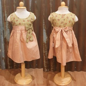LITTLE FAIRY KIDS DRESS - KELLY BABY APRICOT