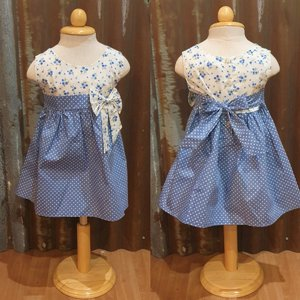 LITTLE FAIRY KIDS DRESS - KELLY BABY BLUE