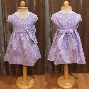 LITTLE FAIRY KIDS DRESS - KELLY PURPEL