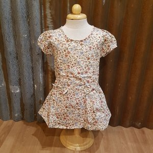 LITTLE FAIRY KIDS DRESS - MARY BOW VINTAGE FLOWER