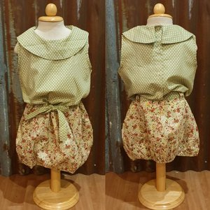 LITTLE FAIRY KIDS DRESS - SALLY GREEN