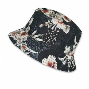 LOOSE RIDERS BUCKET HAT - BLACK ISLAND