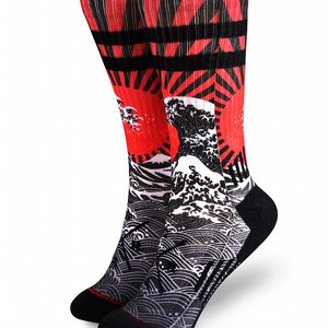 LOOSE RIDERS SOCKS - RISING SUN
