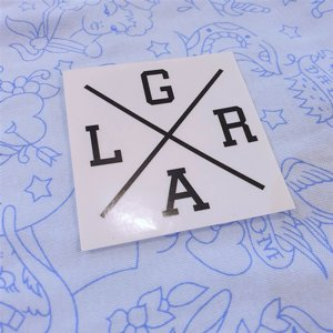 LOOSE RIDERS STICKERS - LG X RA