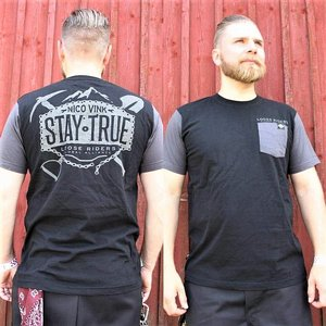 LOOSE RIDERS T-SHIRT - STAY TRUE
