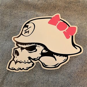 METAL MULISHA STICKER - SKULL I