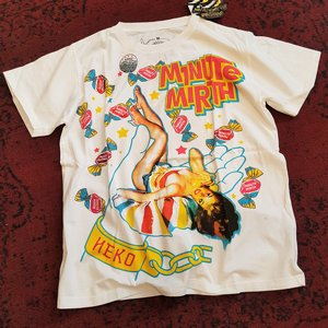 MINUTE MIRTH T-SHIRT - CANDY PINUP