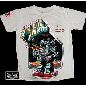 MINUTE MIRTH T-SHIRT - OPEN FIRE VIT