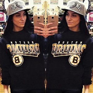 MITCHELL AND NESS CREWNECK - BRUINS B
