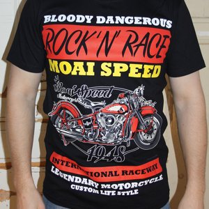 MOAI SPEED TSHIRT - BLOODY