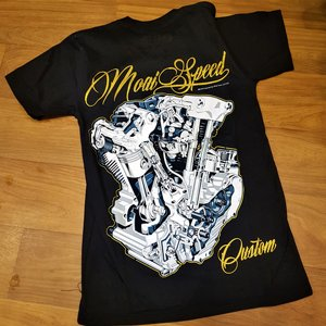 MOAI SPEED TSHIRT - CUSTOM