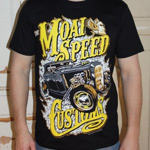 MOAI SPEED TSHIRT - CUSTOMS