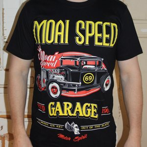 MOAI SPEED TSHIRT - GARAGE