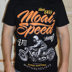MOAI SPEED TSHIRT - SUPER CUSTOM