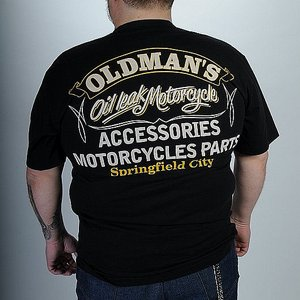 OIL LEAK T-SHIRT - OLDMANS