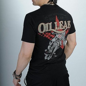 OIL LEAK T-SHIRT - STAR RACER