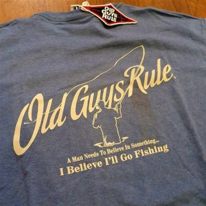 OLD GUYS RULE T-SHIRT - BELLEVE IN