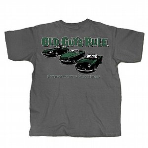 OLD GUYS RULE T-SHIRT - BRITISH RACING