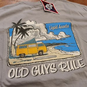 OLD GUYS RULE T-SHIRT - LIQUID ASSETS thumbnail
