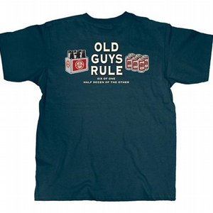 OLD GUYS RULE T-SHIRT - ONE