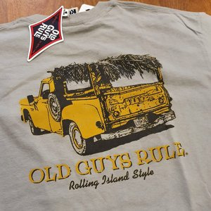 OLD GUYS RULE T-SHIRT - ROLLING ISLAND STYLE
