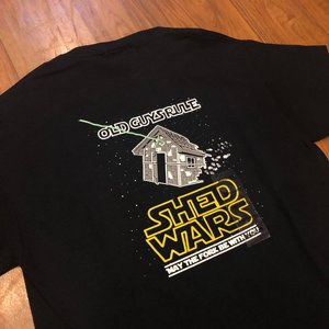 OLD GUYS RULE T-SHIRT - SHED WARS