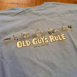 OLD GUYS RULE T-SHIRT - STERIAL GRILLER