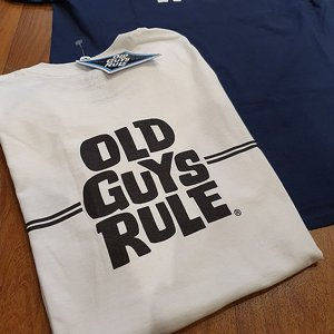 OLD GUYS RULE T-SHIRT - SURF VIT