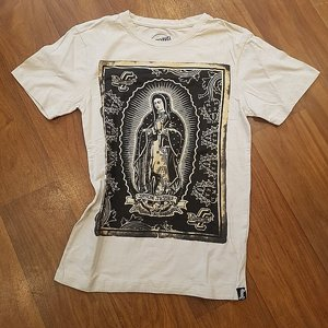 SANTA CRUZ T-SHIRT - MARY CREAM