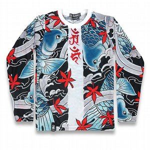 SIX BUNNIES BASEBALL TEE - KOI