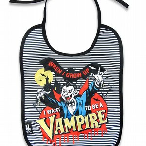 SIX BUNNIES BIB - VAMPIRE