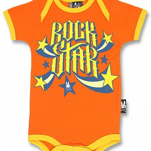 SIX BUNNIES BODY - ROCKSTAR ORANGE