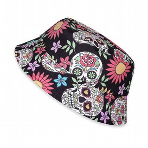 SIX BUNNIES BUCKET HAT - SUGAR SKULLS