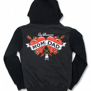 SIX BUNNIES HOOD - MOM DAD
