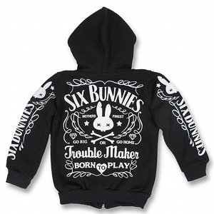 SIX BUNNIES HOOD - TROUBLE MAKER 2 thumbnail