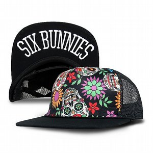SIX BUNNIES KEPS - SUGAR SKULL