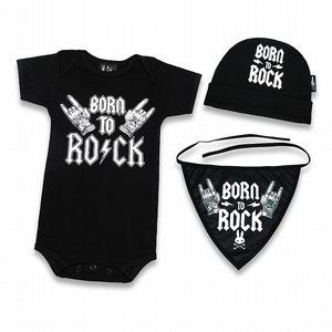 SIX BUNNIES PRESENTSET - BORN TO ROCK