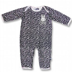 SIX BUNNIES PYJAMAS - LEOPARD ROSA