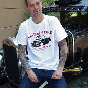 SPEEDY MIKE T-SHIRT - VINTAGE TRUCK VIT