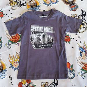 SPEEDY MIKE BARN T-SHIRT - STRAIGHT FROM SPEEDY GRAY