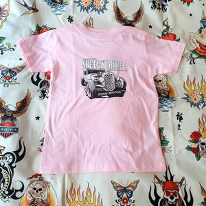 SPEEDY MIKE BARN T-SHIRT - STRAIGHT FROM SPEEDY PINK
