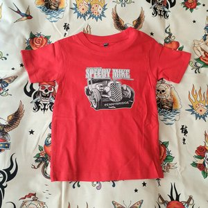 SPEEDY MIKE BARN T-SHIRT - STRAIGHT FROM SPEEDY RED