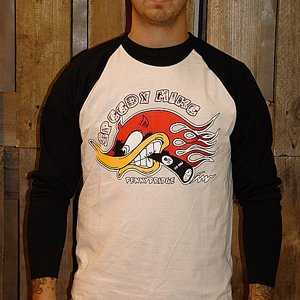 SPEEDY MIKE BASEBALL TEE - HACKE