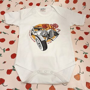 SPEEDY MIKE BODY - BIG CIRKEL HOTROD WHITE