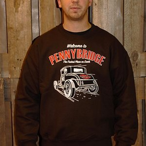SPEEDY MIKE CREWNECK - PENNYBRIDGE BRUN