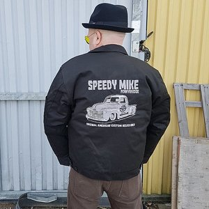 SPEEDY MIKE FODRAD JACKA - CHEVA PICKUP SVART