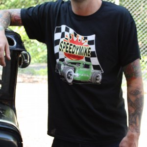SPEEDY MIKE T-SHIRT - GRÖN ROD