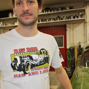 SPEEDY MIKE T-SHIRT - RAT ROD VIT